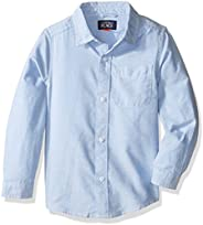 The Children's Place Boys Uniform Solid Long Sleeve Oxford S