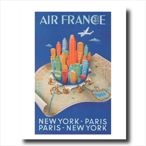 Buy lithograph air france