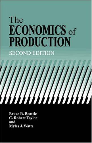 The Economics of Production