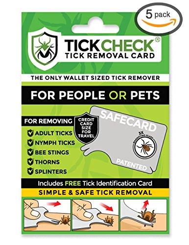 TickCheck Tick Remover Card