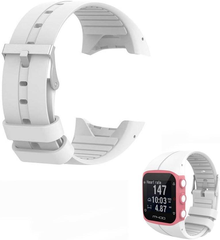 Hensych® - Correa de muñeca de repuesto para reloj Polar M400, M430, reloj para correr con GPS
