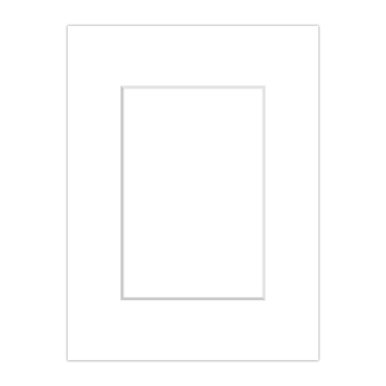 Premium Passepartout Weiß (Schneeweiß) - alle Standard Größen - 1, 4mm stark - Museumsqualität (Außen: DIN A2 / für Bildgröße: DIN A3) Soobsoo GmbH