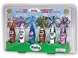 Kooky Klickers, Krew 25 Collector Set, 6 pens, Assorted Colors (KKSTAND25)