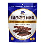 Undercover Quinoa Crispy Quinoa Snack 8 Count Case of 2 oz. Bags (Dark Chocolate + Blueberries) Review