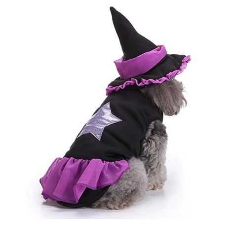 Firlar Disfraz de Halloween para Mascotas, Falda de Disfraz para ...