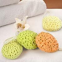 Guerbrilla Hydrophilic Polyurethane Nonirritant Baby/Infant/Toddler Bath Shower Sponge Brush/Ball, Random Color (2)
