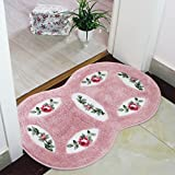 Simple And Creative Kitchen Bedroom Anti-Slip Doormat about 46*75cm