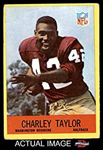 1967 Philadelphia # 190 Charley Taylor Washington Redskins (Football Card) Dean's Cards 3 - VG Redskins
