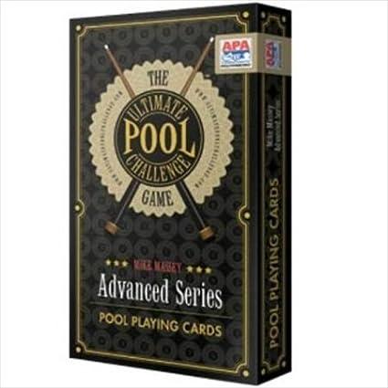 Ultimate Pool Challenge Card Game Cuestix
