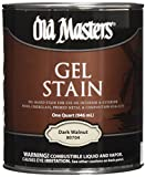 Old Masters 24991 80704 Gel Stain, Dark Walnut, 1 quart