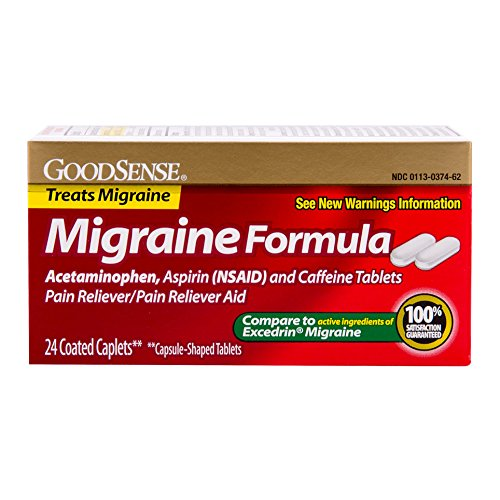 GoodSense Migraine Acetaminophen Caffeine 24 count product image