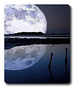 buy gaming mousepad Nature Moon Spaces PC Custom Mouse Pads / Mouse Mats Case Cover