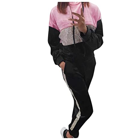 Surfiiy Donna Tracksuits - Chándal Deportivo Completo para Mujer ...