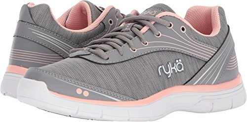 Ryka Women's Destiny Cross Trainer, Grey/Rose, 9 M ()
