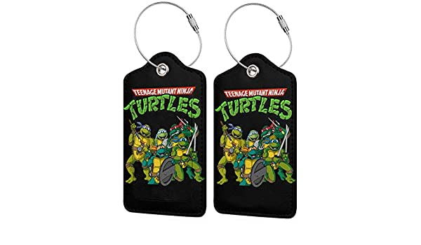 Etiqueta de Equipaje de Cuero de Tortugas Ninja Mutantes ...