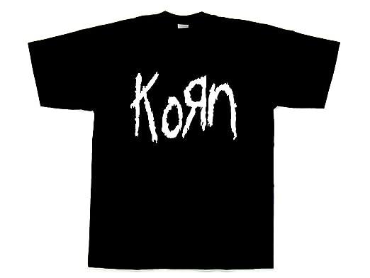 KornロゴTシャツ