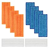 Replacement 10 Packs Washable Mopping Pads Wet Damp Dry Sweeping Pads for iRobot Braava Jet 240 241