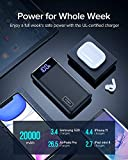 INIU Portable Charger, 20W PD3.0 QC4.0 Fast