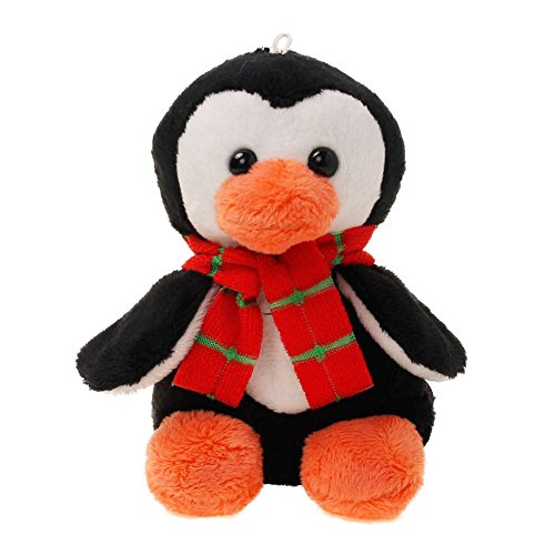 Tiktoy Plush Penguin Stuffed Animals Toy- Measures 4.7 Inches - Small
