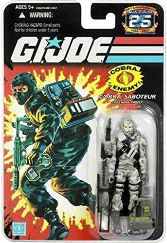 Firefly Joe Gi - G.I. Joe 25th Anniversary: Firefly (Cobra Saboteur) 3.75 Inch Action Figure