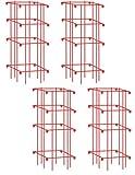 Gardener's Supply Company Lifetime Tomato Cages, Heavy Gauge, Set of 4
