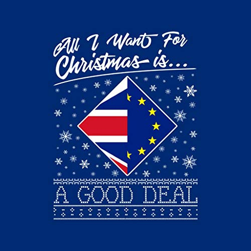 Good I Is Women's Royal Blue A Sweatshirt Want Deal Christmas All For Coto7 Hooded gw0xa6q