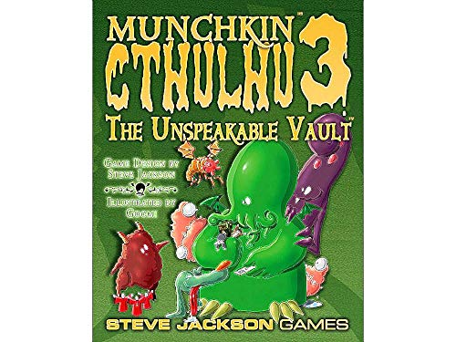 Munchkin Cthulhu 3 Unspeakable Vault (Rev.)