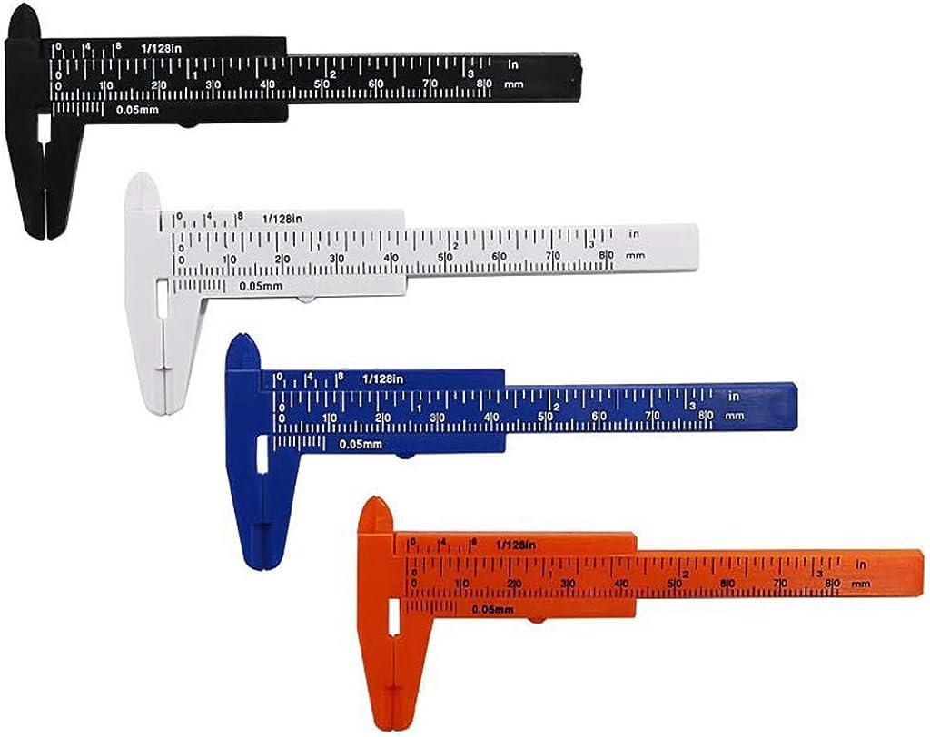 "New Vernier Caliper Gauge Digital 80"" Plastic Student Dimension Measuring Tool"