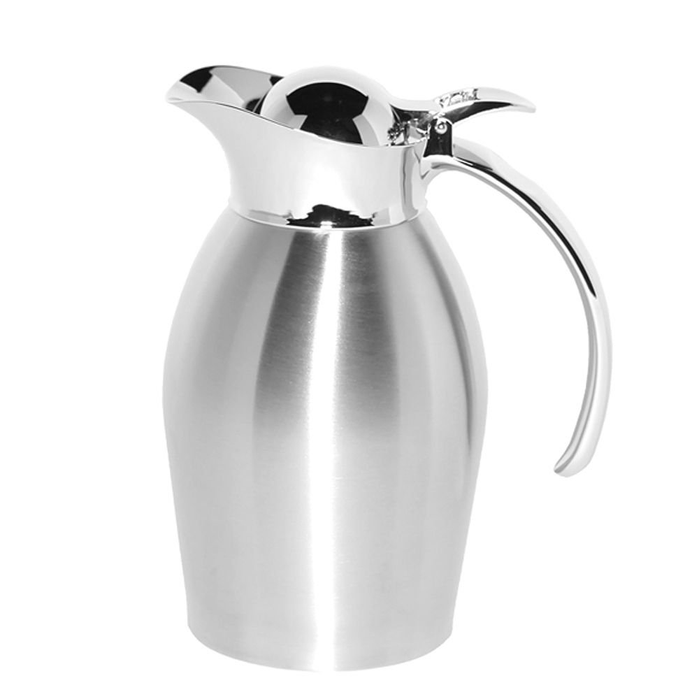 Service Ideas 98106BS Carafe, Stainless Steel, Brushed Exterior, 0.6 L