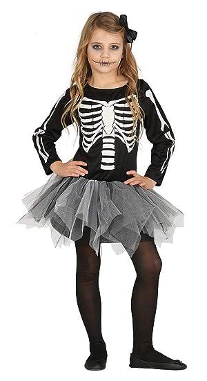 FIESTAS GUIRCA Disfraz de Esqueleto con tutú Infantil.: Amazon.es ...