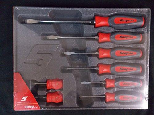 snap on screwdriver set of 8 part shdx80r screwdrivers automotive parts. Black Bedroom Furniture Sets. Home Design Ideas