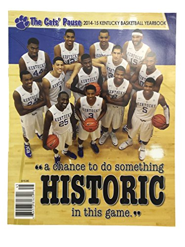 The Cats' Pause 2014-15 Kentucky Basketball Yearbook