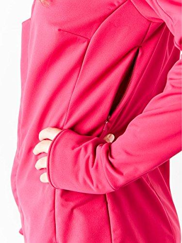 ASICS Womens Softshell Jacket, Performance Black, X-Small by ASICS (Image #5)