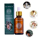 Fullfun HJFCY Plant Essential Oil Ginger Body Massage Oil 30ml Thermal Body Ginger Essential Oil Scrape Therapy SPA