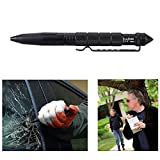 Petbly(TM)Personal Self Defense Tactical Survival Pen Life-saving Aviation Aluminum Portable Multi-function Outdoor Camping Tool LAIX B2