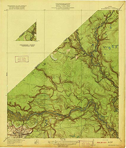 YellowMaps Moonshine Hill TX topo map, 1:31680 Scale,, used for sale  Delivered anywhere in USA