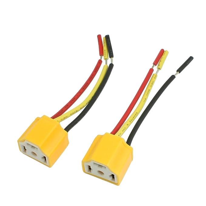 10 opinioni per Connettori per fanali auto lampadine attacco H4 pezzi 2