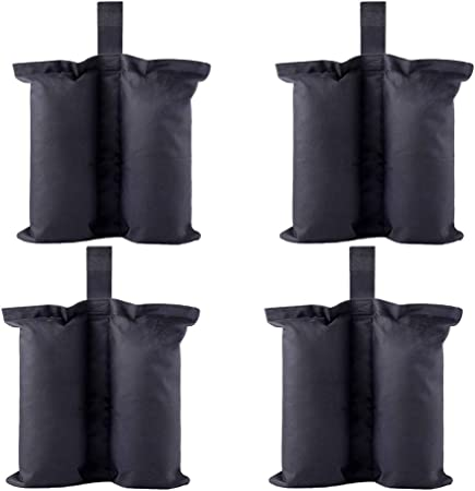 Ohuhu Canopy Weight Bags for Pop up Canopy Tent Sand Bags for Instant Outdoo...