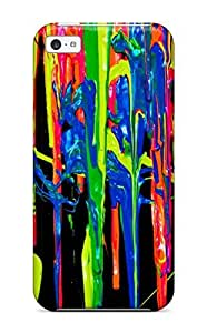 NadaAlarjane Case Cover Iphone 5c Protective Case Colorful Trippy