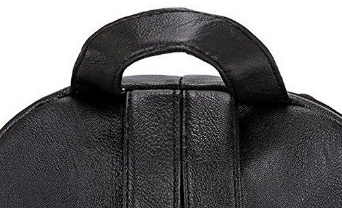 Tracolla Borse Pantaloni Casual Nera Formale Donne Dell'unità Elaborazione Di A Cerniera Allhqfashion Sq5Awxz0
