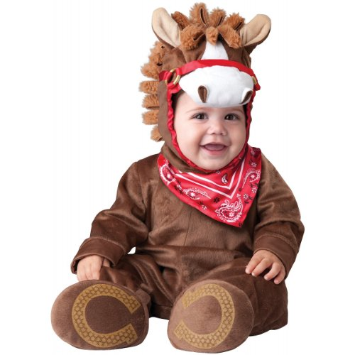 Western Baby Halloween Costumes (InCharacter Baby Boy's Playful Pony Costume, Brown, Medium)