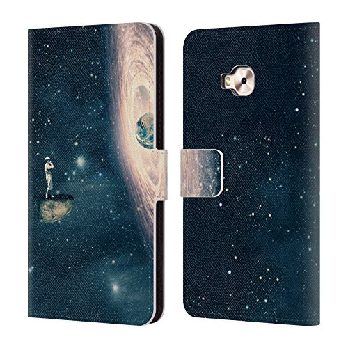Official Swirl Paula Space Cover Case Just Flores Belle Swirl Zenfone Pro Swirl Case Game Leather A Designs 4 Selfie Surreal Book Head ZD552KL Just Wallet For fwqtzEA