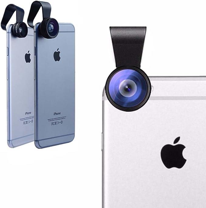 iboolo Kit de Objetivo Photo 3 en 1 para Smartphone: Amazon.es ...