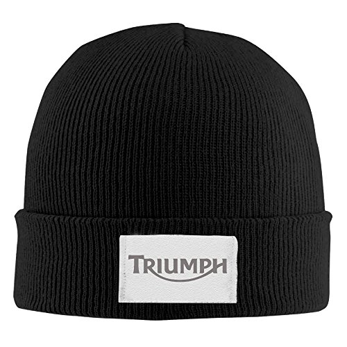 XTREME Beanie Hat-triumph Motorcycles Logo For Unisex Black