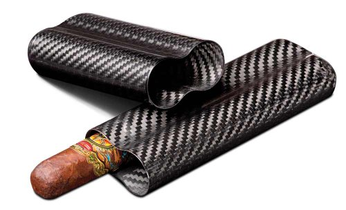 499 Night' Real Carbon Fiber Cigar Case ()