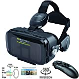 VR Headset Virtual Reality 3D Glasses Headset with VR...