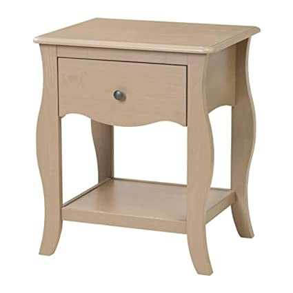 new style 8959b 33647 Amazon.com - IKEA Hasselvika Nightstand Gray Beige 804.217 ...
