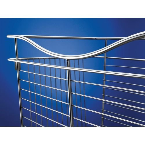 Rev-A-Shelf - CB-181607SN-1 - Satin Nickel Closet Pull-Out Basket (Baskets Series Cb)