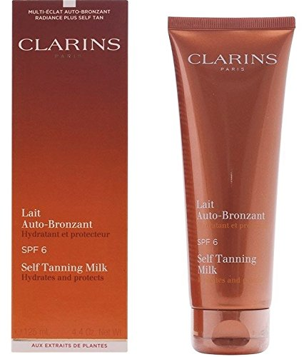Clarins Self Tanning Milk SPF 6, 4.2-Ounce from Clarins