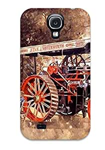 Durable Case For The Galaxy S4- Eco-friendly Retail Packaging(tractor)